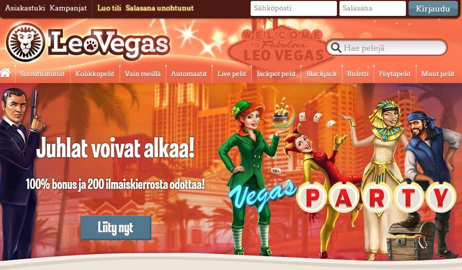 leo vegas casino kokemuksia