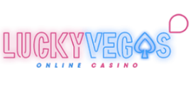 luckyvegas casinokokemus kasinoarvostelu logo