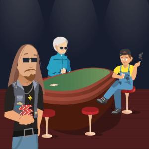 liity pelipöytään pokeri
