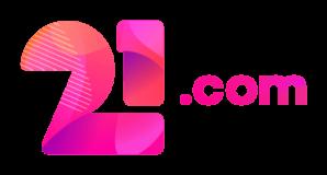 21.com casino png logo
